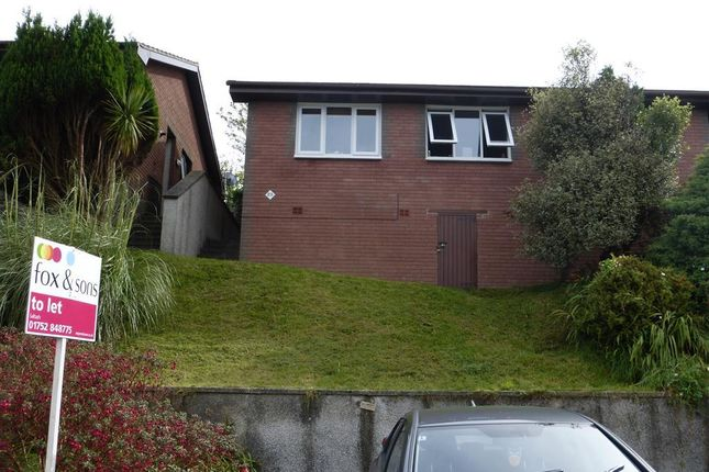 Thumbnail Semi-detached bungalow to rent in Tregarrick, Looe