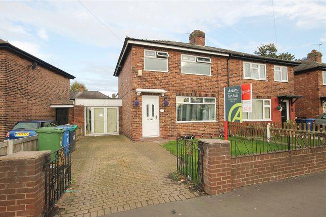 Thumbnail Semi-detached house for sale in Central Avenue, Warrington