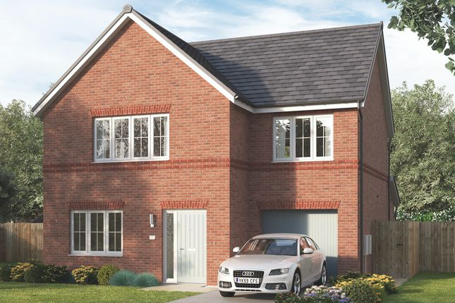 """4 bed detached house for sale in """"The Newbrook"""" at Wellfield Road North, Wingate TS28"""