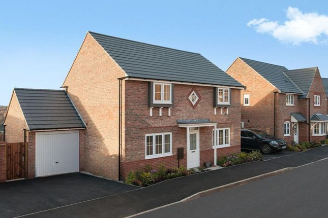 "Thumbnail Detached house for sale in ""Thornbury"" at Tiber Road, North Hykeham, Lincoln"