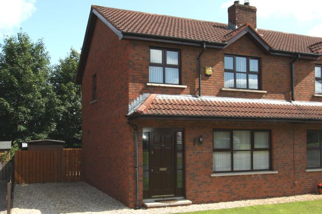 Thumbnail Semi-detached house to rent in Ruskin Heights, Lisburn