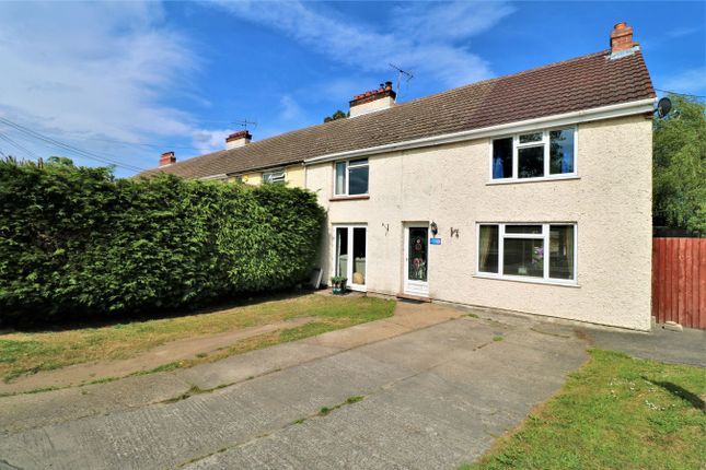 Thumbnail End terrace house for sale in Back Lane East, Great Bromley, Colchester, Essex