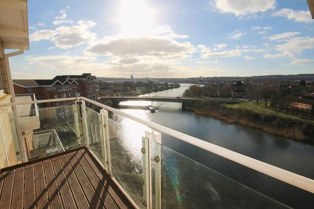 Thumbnail Flat to rent in Penstone Court, Century Wharf, Cardiff