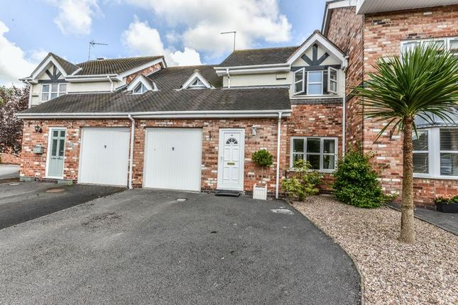 Thumbnail Town house for sale in Waterside Close, Madeley, Crewe