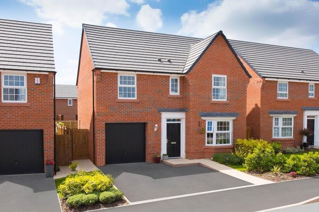 "Thumbnail Detached house for sale in ""Finsbury"" at Hassall Road, Alsager, Stoke-On-Trent"