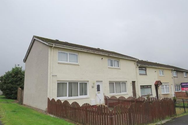 Thumbnail End terrace house to rent in Ardgour Court, Blantyre, Glasgow