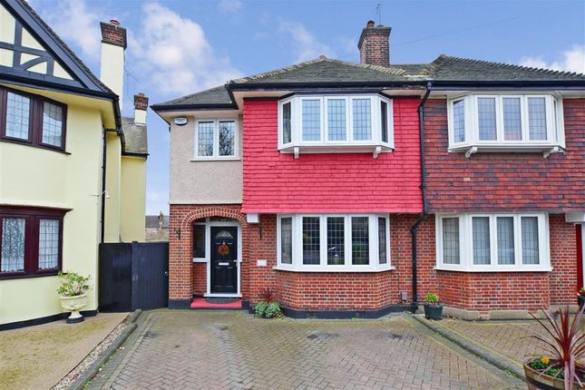 Thumbnail Semi-detached house for sale in Wellington Avenue, London