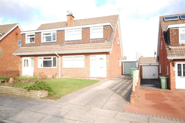 Thumbnail Semi-detached house to rent in Farndon Way, Oxton, Merseyside