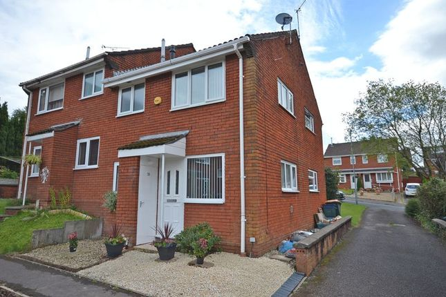 Thumbnail Terraced house to rent in Superb Modern House, Park Wood Drive, Newport