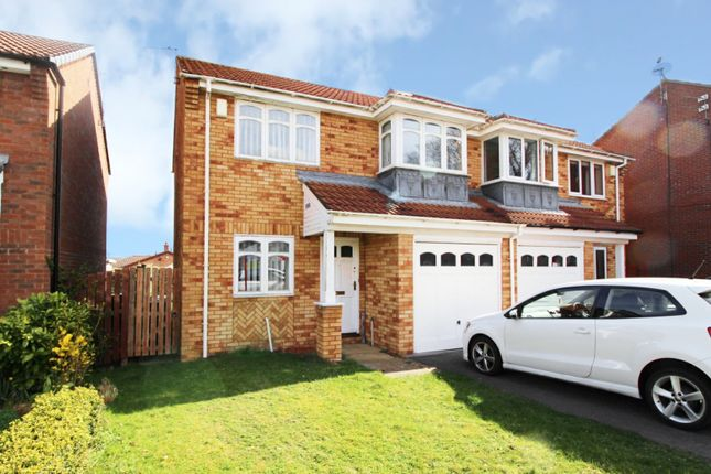 Thumbnail Semi-detached house for sale in Westerton Close, Spennymoor, Durham