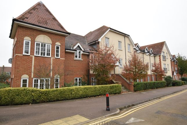 Thumbnail Flat for sale in Elderflower House, Whinbush Road, Hitchin, Hertfordshire