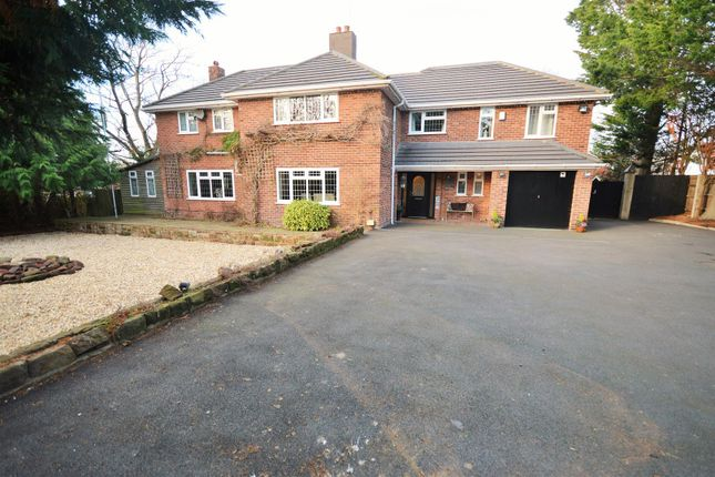 Thumbnail Detached house for sale in Earle Drive, Parkgate, Cheshire