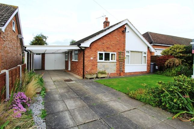 Thumbnail Detached bungalow for sale in Windmill Close, Buerton, Crewe