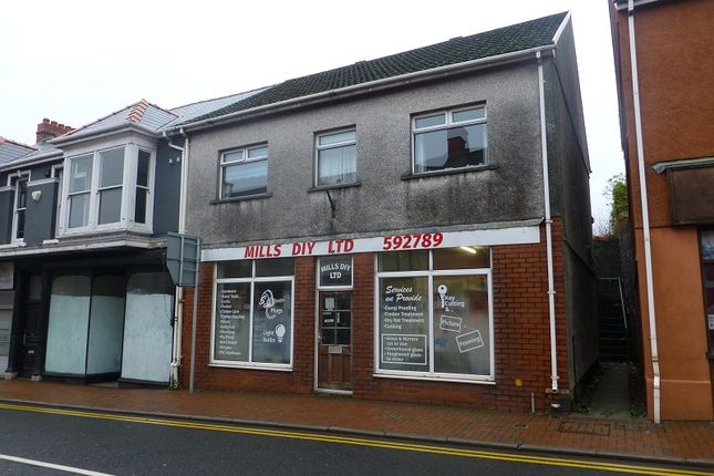 Thumbnail Retail premises for sale in High Street, Ammanford, Carmarthenshire.
