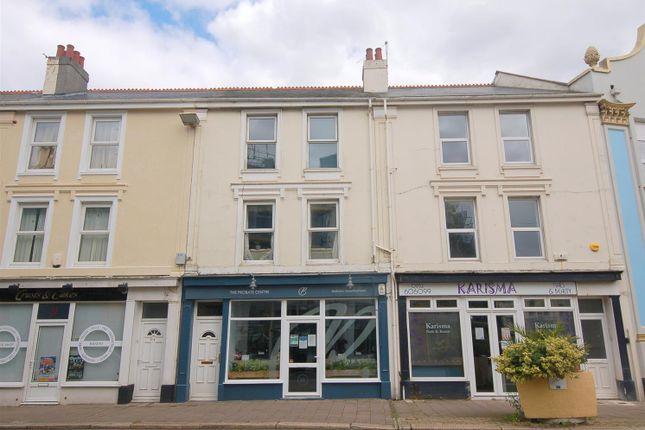 Thumbnail Flat for sale in Devonport Road, Stoke, Plymouth