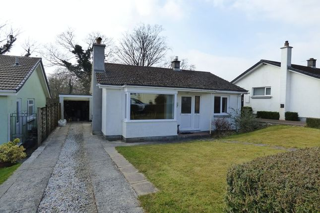 Thumbnail Detached bungalow for sale in Moor View, Mary Tavy, Tavistock