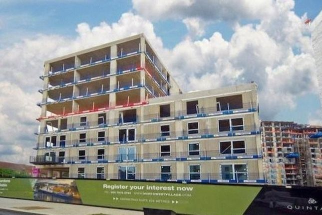 Thumbnail Flat for sale in North West Village, Wembley Park, London