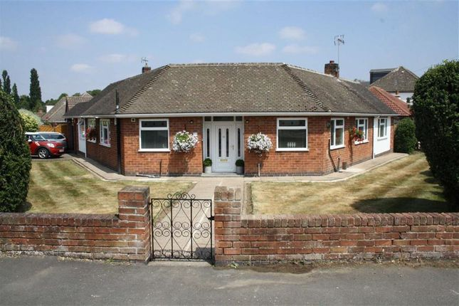 Thumbnail Detached bungalow for sale in Barbara Avenue, Kirby Muxloe, Leicester