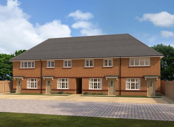 "Thumbnail End terrace house for sale in ""Ledbury"" at Herbert Owen Drive, Priorslee, Telford"