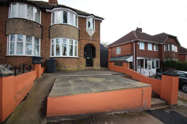 Thumbnail Semi-detached house to rent in Yarningale Road, Birmingham