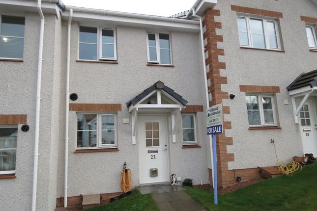 Thumbnail Terraced house for sale in Myrtletown Park, Westhill, Inverness