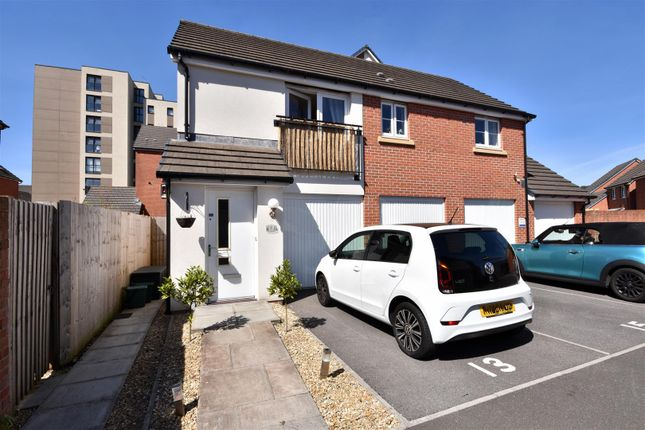 Thumbnail 2 bed flat for sale in Coles Close, Swansea, Swansea