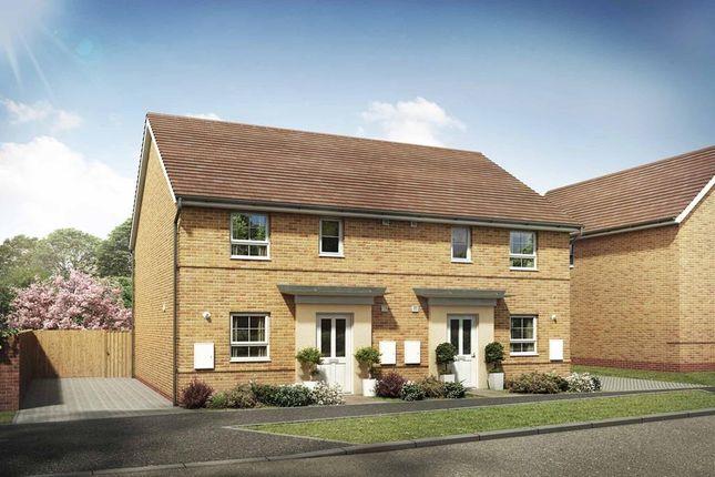 """Thumbnail Semi-detached house for sale in """"Folkestone"""" at Briggington, Leighton Buzzard"""