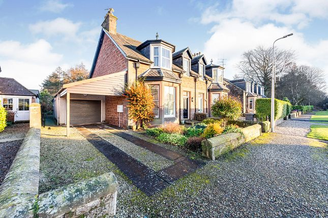 Thumbnail Semi-detached house for sale in High Street, Edzell, Brechin, Angus