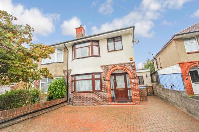 Thumbnail 3 bed semi-detached house to rent in Westbury Road, Regents Park, Southampton