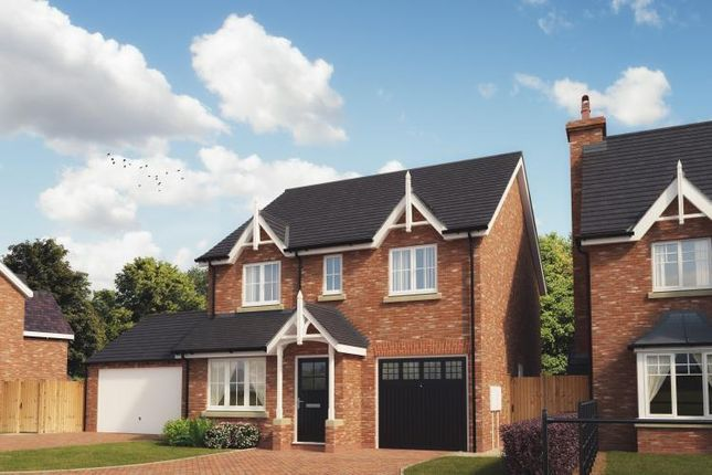 Thumbnail Detached house for sale in Kings Vale. Off Shrewsbury Road, Baschurch, Shrewsbury