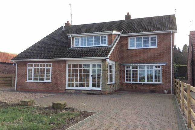 Thumbnail Detached house to rent in Orchard Lane, Hutton, Driffield