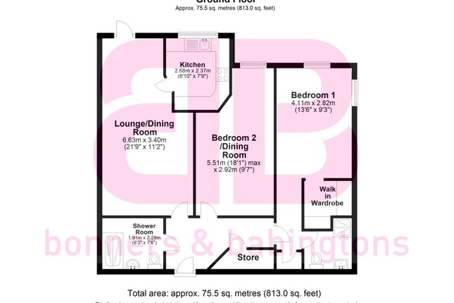 Thumbnail Flat for sale in Longwick Road, Princes Risborough