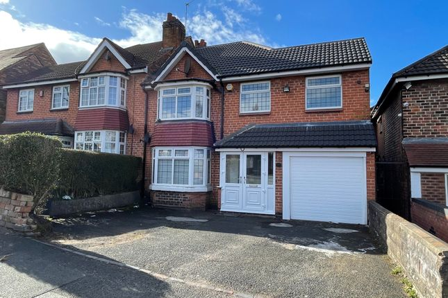 Thumbnail Semi-detached house to rent in Sandwell Road, Birmingham