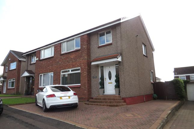 Thumbnail Semi-detached house for sale in Murrin Avenue, Bishopbriggs, Glasgow