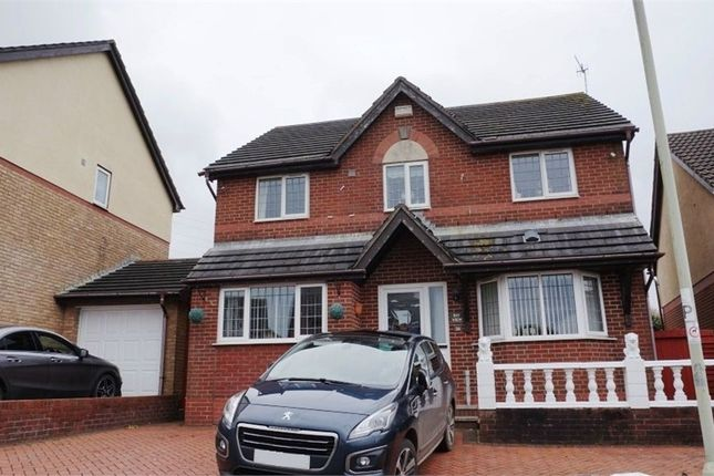 Thumbnail Detached house for sale in Llwyn Helig, Kenfig Hill, Bridgend, Mid Glamorgan
