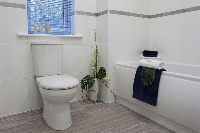 "Bathroom of ""Abergeldie"" at South Larch Road, Dunfermline KY11"