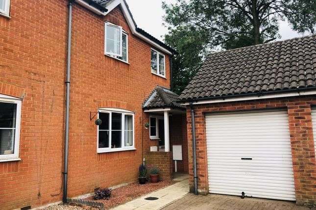 Thumbnail End terrace house for sale in Barnes Close, Kibworth, Leicester