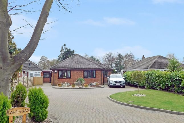 Thumbnail Detached bungalow for sale in Saltfleet Road, Theddlethorpe, Mablethorpe