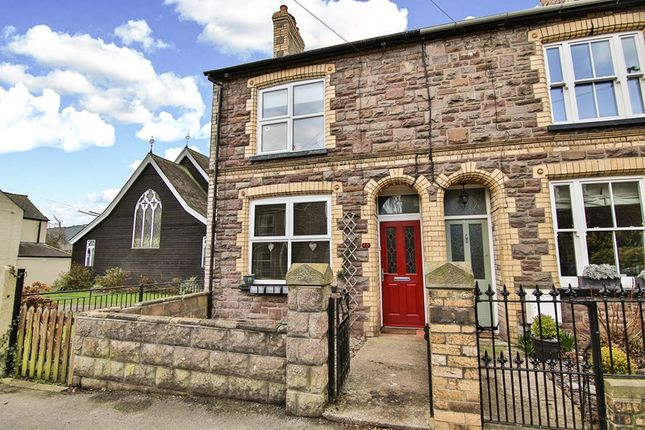 Thumbnail End terrace house for sale in North Street, Abergavenny