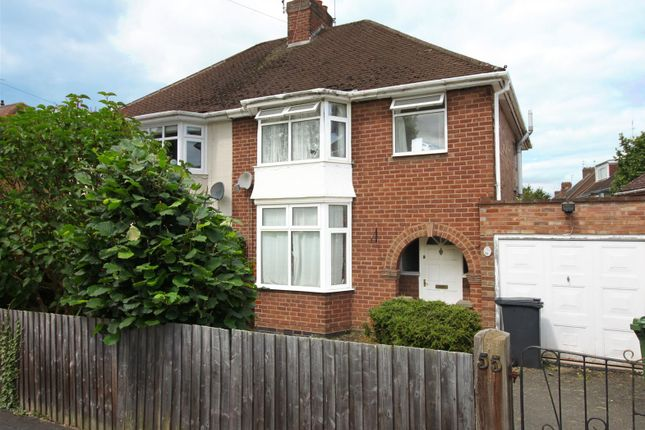 Thumbnail Semi-detached house for sale in Kinross Road, Leamington Spa
