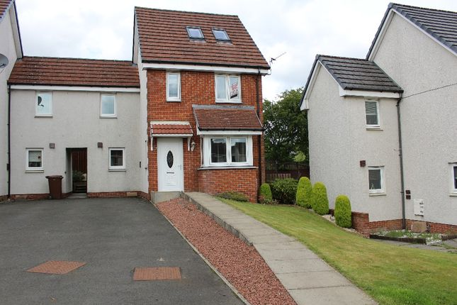 Thumbnail Town house to rent in Millgate Crescent, Caldercruix, North Lanarkshire