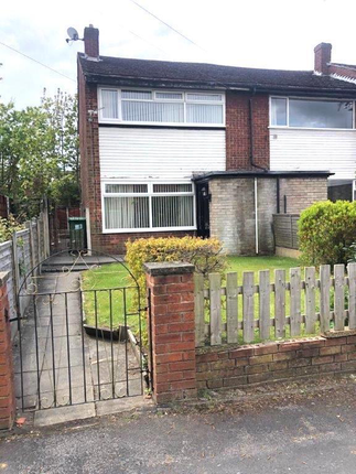 3 bed end terrace house to rent in Grasmere Road, Partington M31