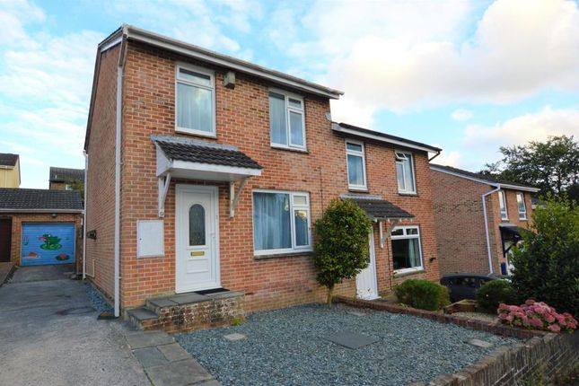 Thumbnail Semi-detached house for sale in Maddock Close, Plymouth, Devon