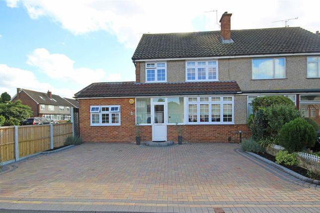 Thumbnail Semi-detached house for sale in Lynegrove Avenue, Ashford