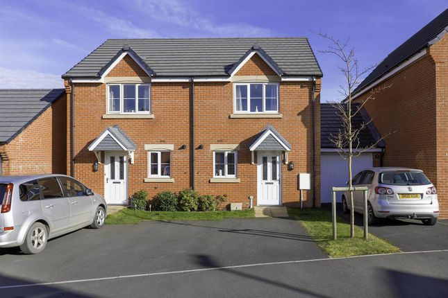 Thumbnail Semi-detached house for sale in Manor House Court, Chesterfield