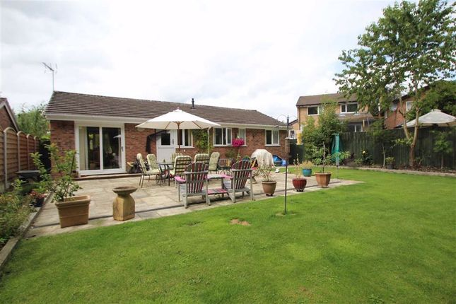 Thumbnail Detached bungalow for sale in Glentworth Close, Oswestry