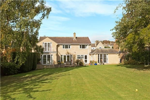 Thumbnail Detached house for sale in South Lawn, Southam Lane, Southam, Cheltenham, Gloucestershire