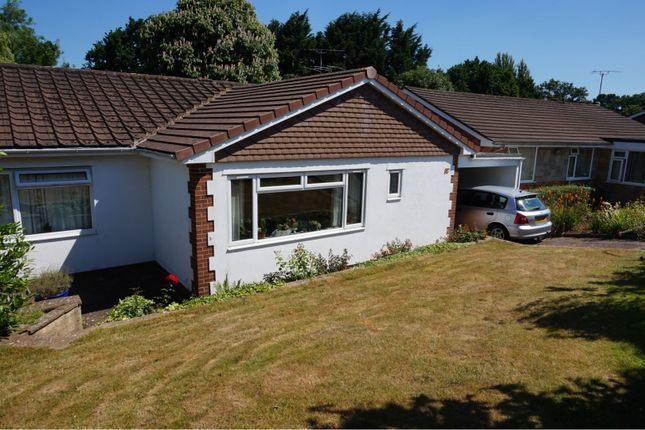 Thumbnail Detached bungalow for sale in Glebelands Road, Tiverton