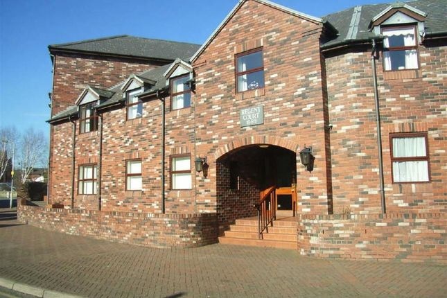 Thumbnail Flat to rent in Regent Court, Roft Street, Oswestry