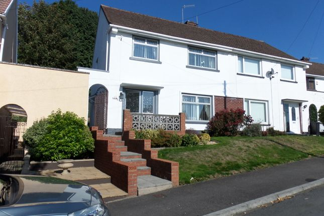 Thumbnail Semi-detached house for sale in Llewellyn Street, Merthyr Tydfil